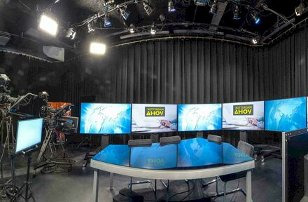 Online Seminar en Rotterdam Ahoy openen nieuwe studio voor live, virtuele en hybride evenementen - Foto 1