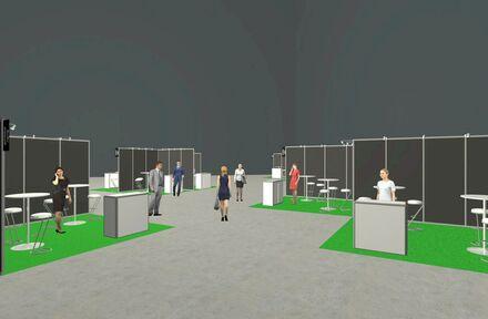 Easyfairs Belgium lanceert in haar beurshallen 'Easy Venue', een corona-safe en all-in beurs format - Foto 1