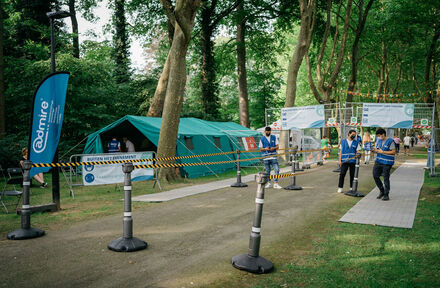 @dmire offering event solutions with Covid Safe Ticket scanning - Foto 1