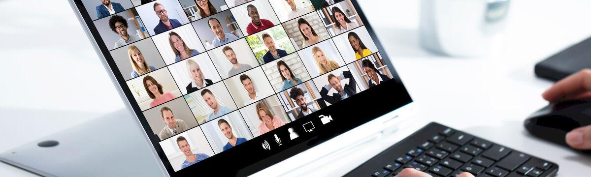 Virtual events platform