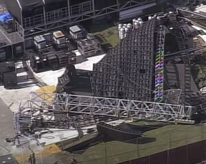 Giant Video Wall Collapses Day before Music Festival