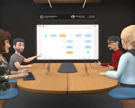 Facebook's New Bet on Virtual Reality: Conference Rooms