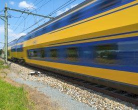 By Train: Encourage Public Transport