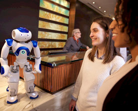 Robots at the Counter of Your Event? If it's Up To IBM and Hilton, There Will Be